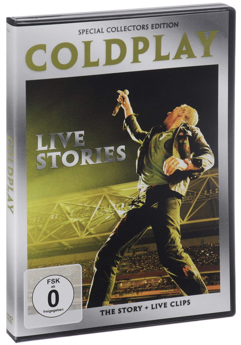 Coldplay: Live Stories: Special Collector's Edition coldplay live stories special collector s edition