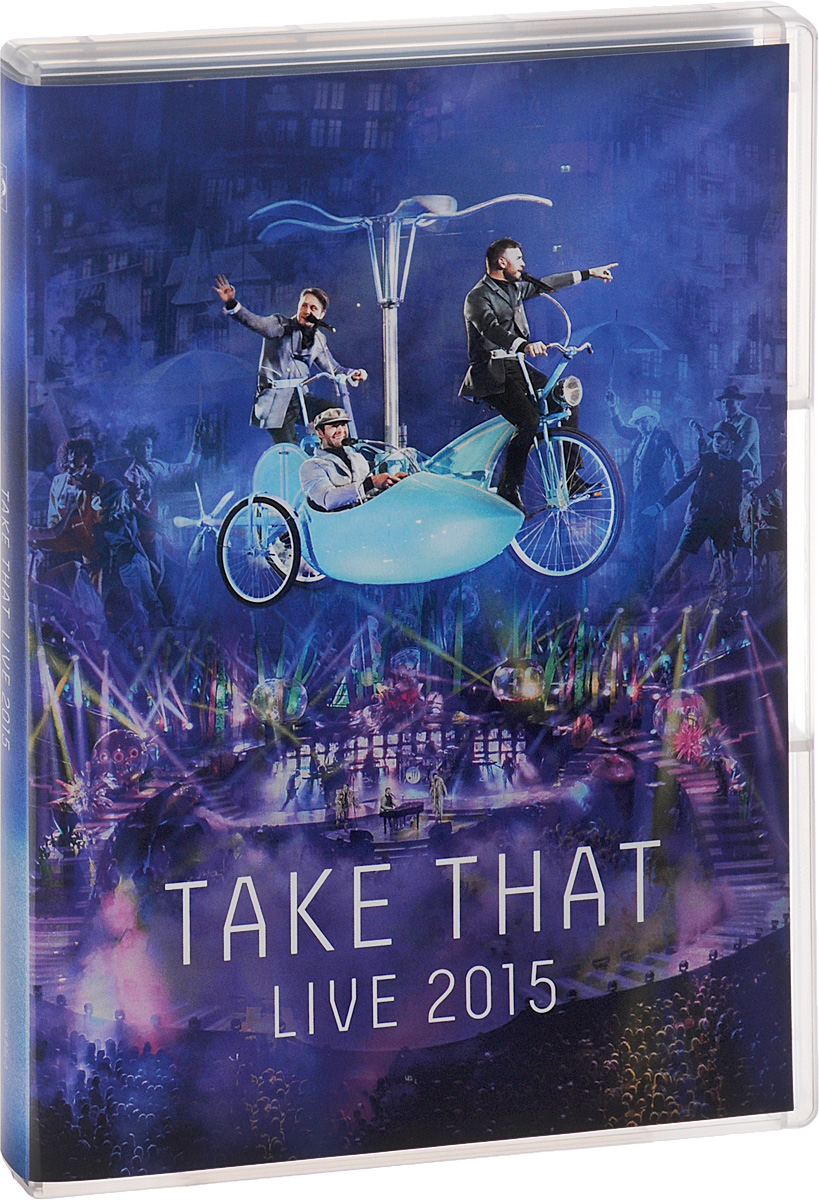 Take That. Live 2015 the affirmation
