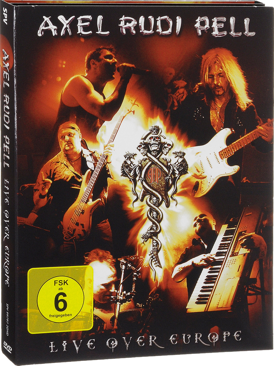 Axel Rudi Pell: Live Over Europe (2 DVD) germany memories of a nation