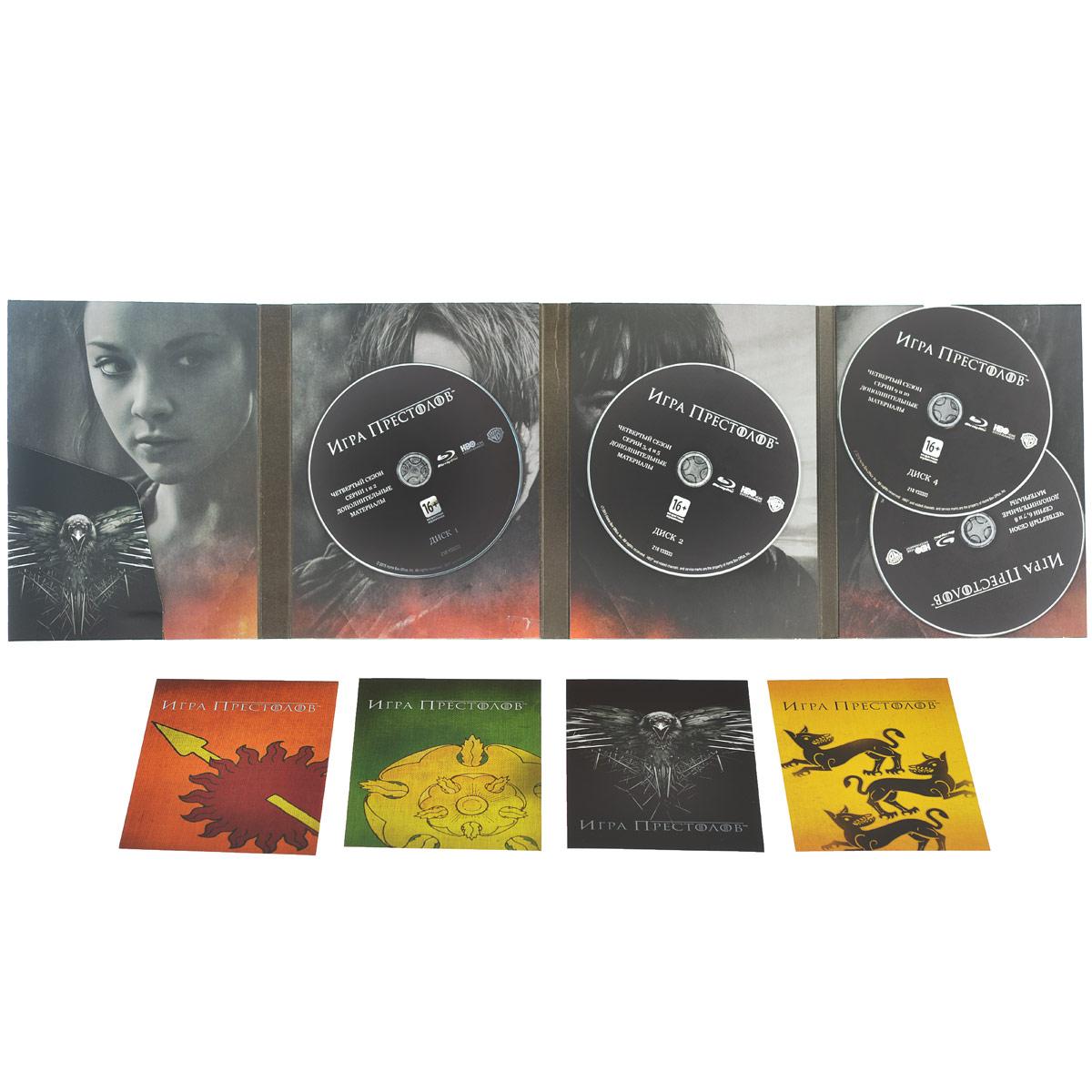 Игра престолов: Сезон 4 (4 Blu-ray)