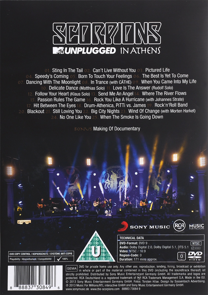 Scorpions: MTV Unplugged In Athens