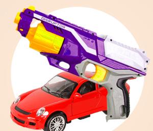 Игрушечное оружие и радиоуправляемые игрушки