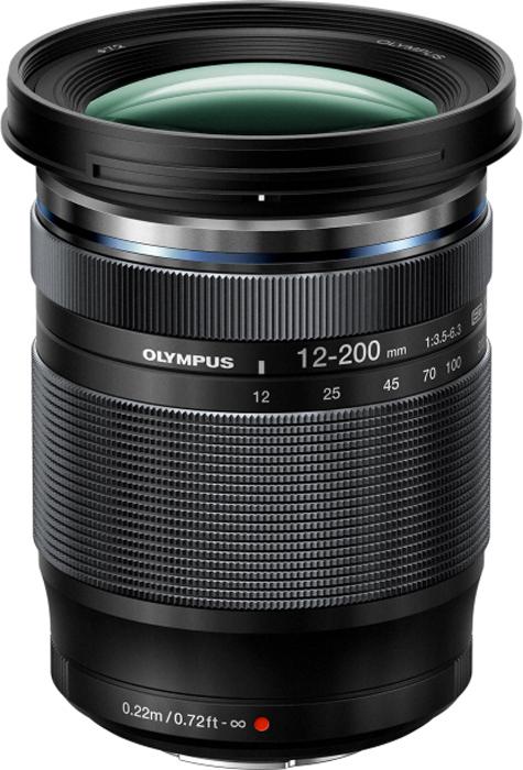 Объектив M.Zuiko Digital ED 12-200 mm F3.5-6.3, черный