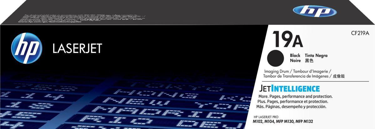Фотобарабан HP 19A, черный, для лазерного принтера, оригинал фотобарабан easyprint dh 19a cf219a для hp laserjet pro m102 m104 m130 m132 цвет черный