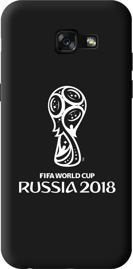 Чехол TPU для Samsung Galaxy A5(2017), FIFA Official Emblem white, Deppa чехол fifa 2018 official emblem white для samsung a5