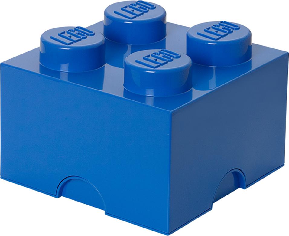 Ящик для хранения 4 LEGO синий