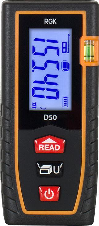 Дальномер лазерный RGK D50 лазерный дальномер rgk d50