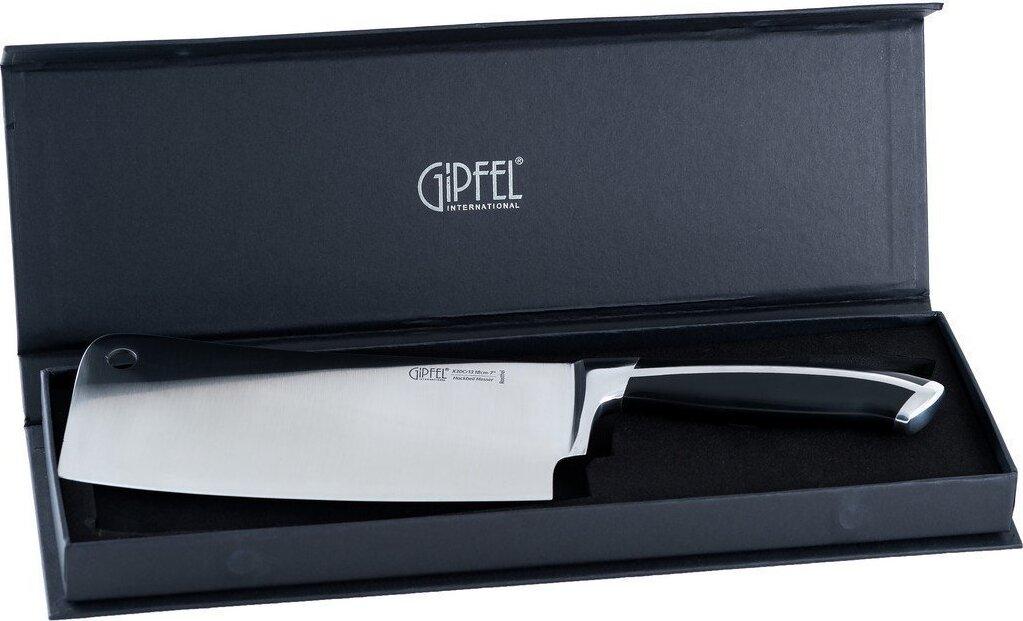 Кухонный нож-топорик GIPFEL 18 см топорик для мяса chen zhi to remember 2