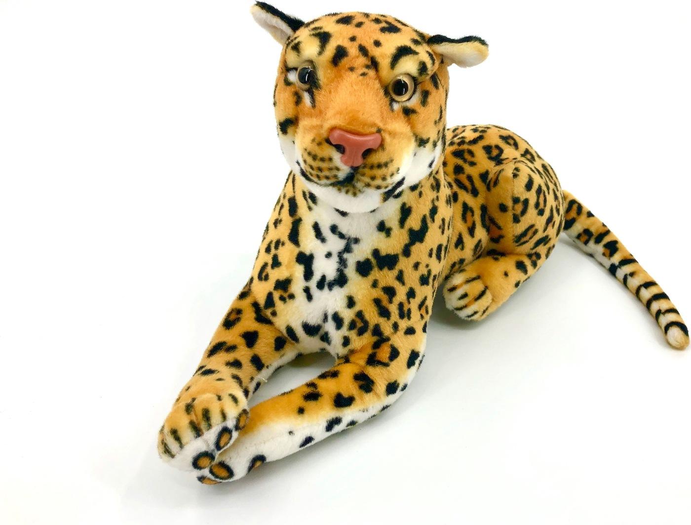 АБВГДЕЙКА Мягкая игрушка Леопард, 30 см