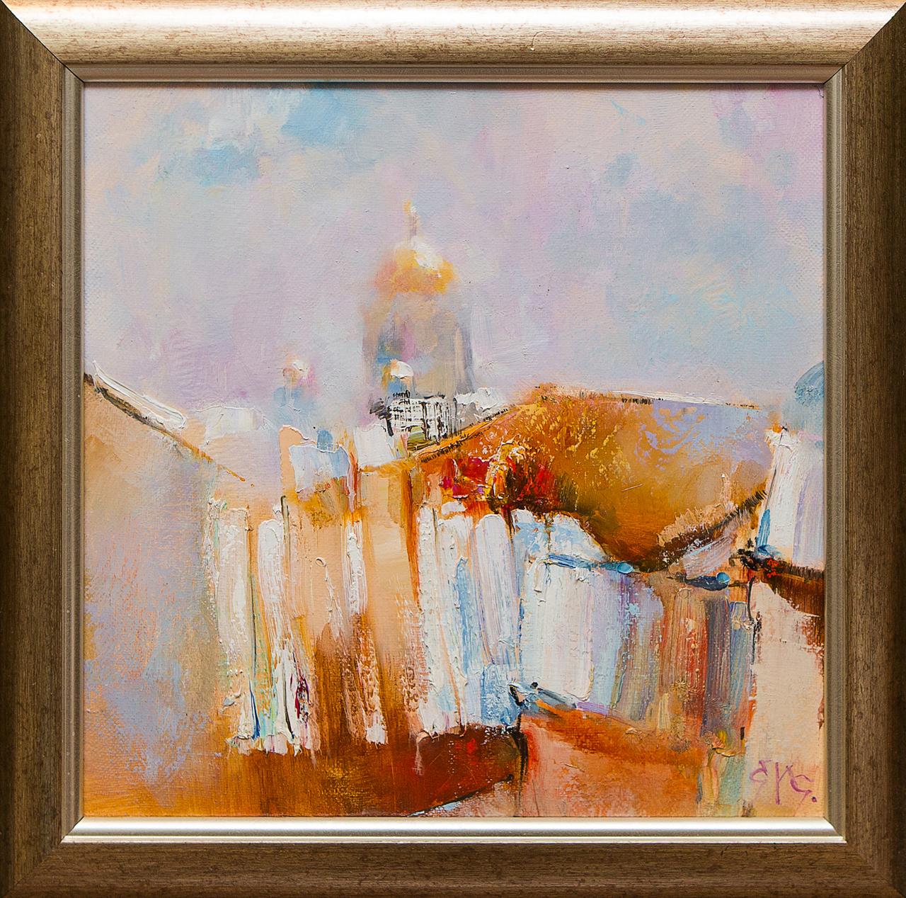 Картина маслом Исаакиевский собор с крыши Сухоплюев картина маслом исаакиевский собор с крыши сухоплюев
