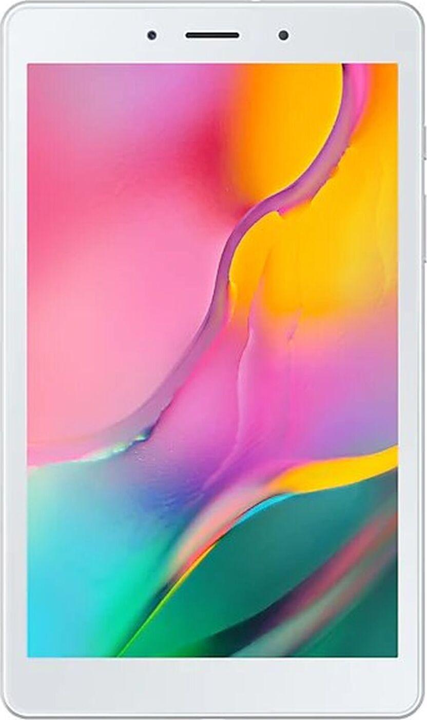 "планшет samsung galaxy tab a 8.0 wi-fi + lte (2019) 8"", 32 gb, серебристый. уцененный товар"