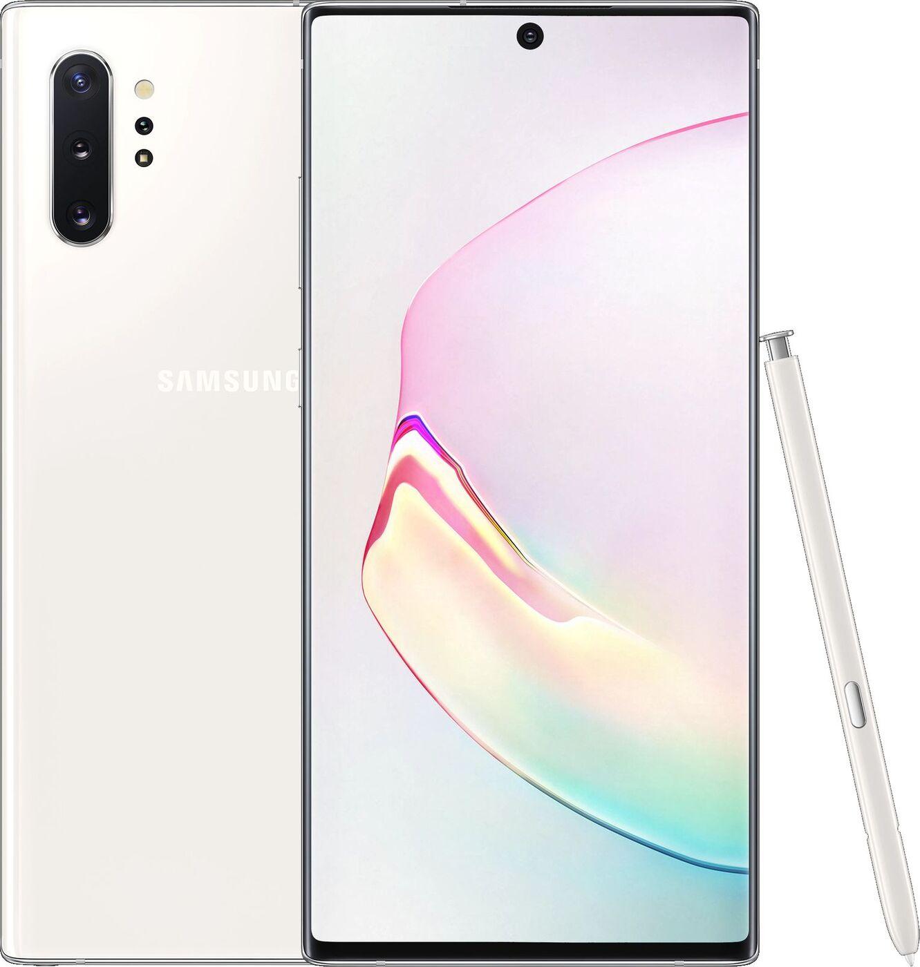 Смартфон Samsung Galaxy Note10+ 12/256GB, белый