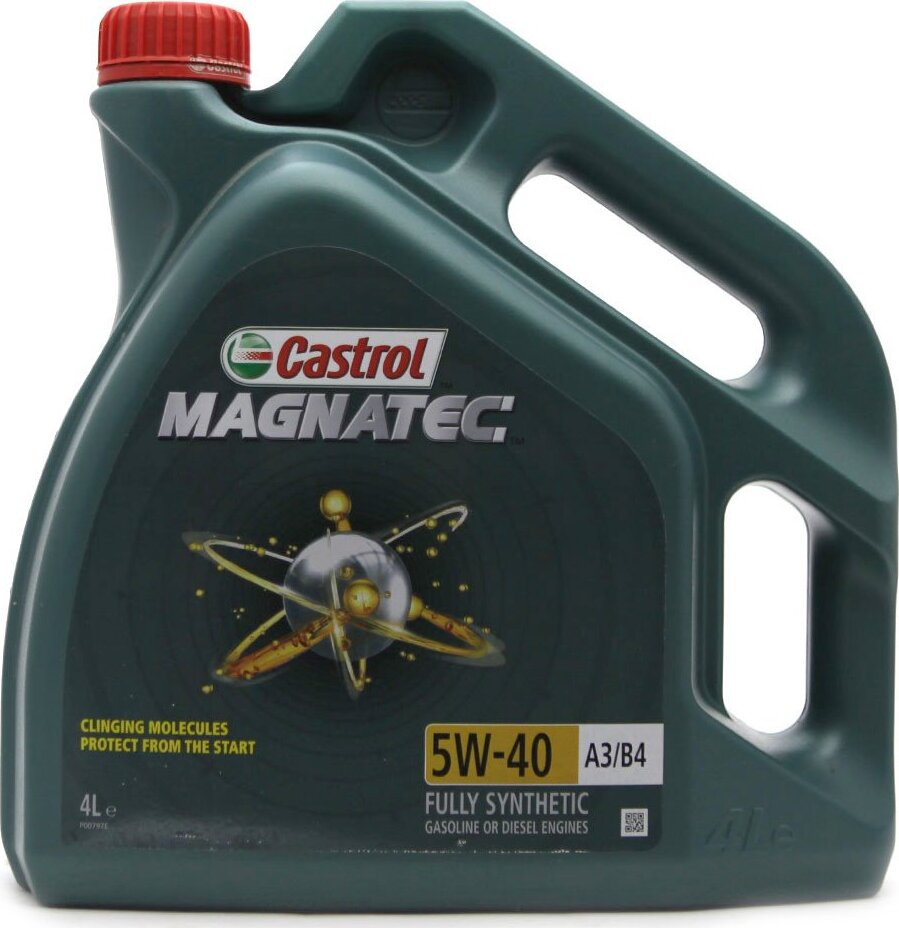 Моторное масло CASTROL Magnatec A3/B4, синтетическое, 5W-40, 4 л 156E9E