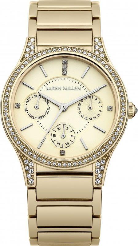 Фото - Наручные часы Karen Millen KM107GM женские часы karen millen km107gm