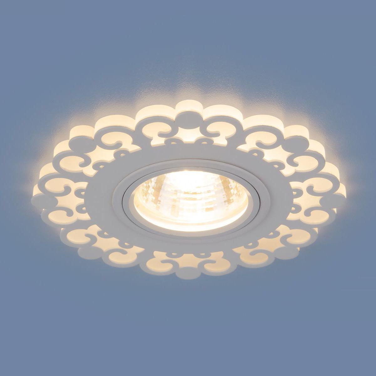 цена Встраиваемый светильник Elektrostandard Точечный светодиодный 2196 MR16 WH, G5.3