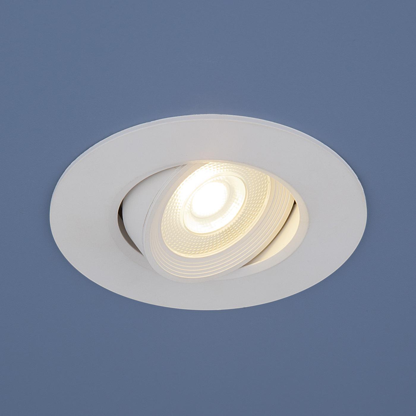 Встраиваемый светильник Elektrostandard потолочный светодиодный 9906 LED 6W WH