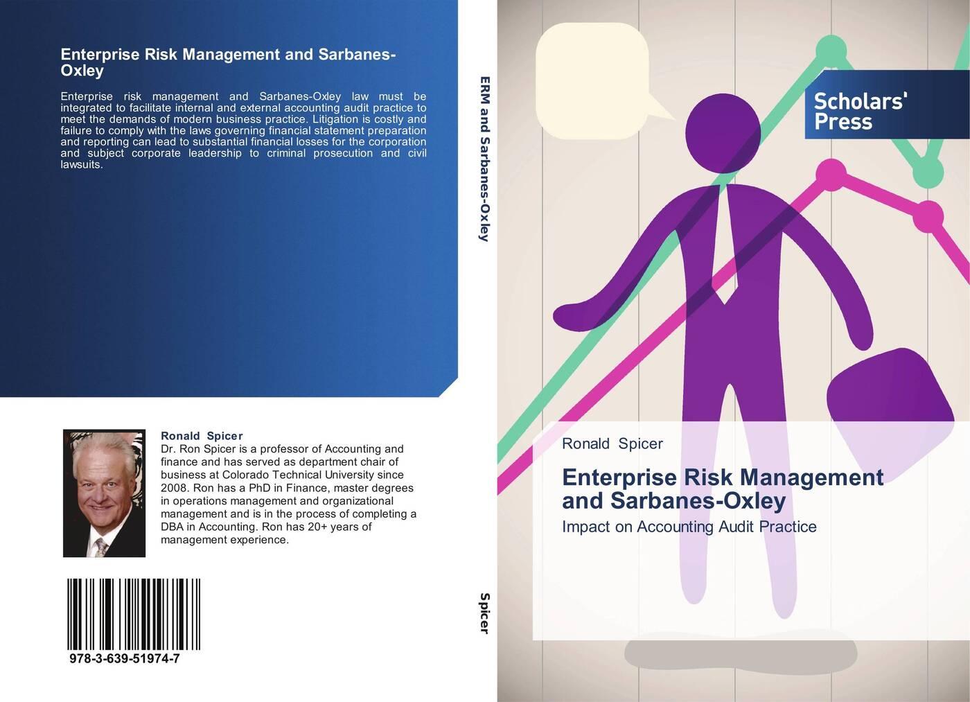 Ronald Spicer Enterprise Risk Management and Sarbanes-Oxley все цены