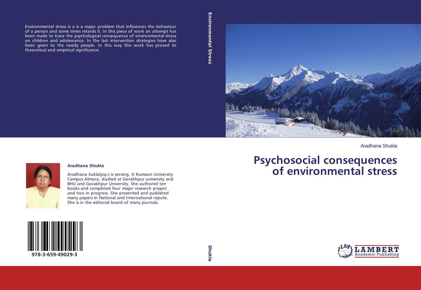 Aradhana Shukla Psychosocial consequences of environmental stress цена в Москве и Питере