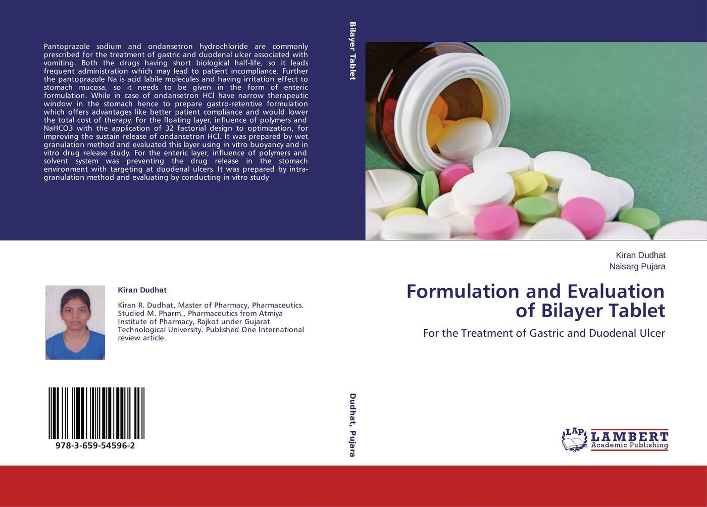 Kiran Dudhat and Naisarg Pujara Formulation and Evaluation of Bilayer Tablet berkeley moynihan the surgical treatment of gastric and duodenal ulcers