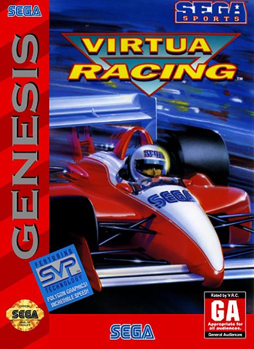 SEGA Race Drivin игры на приставку torrent