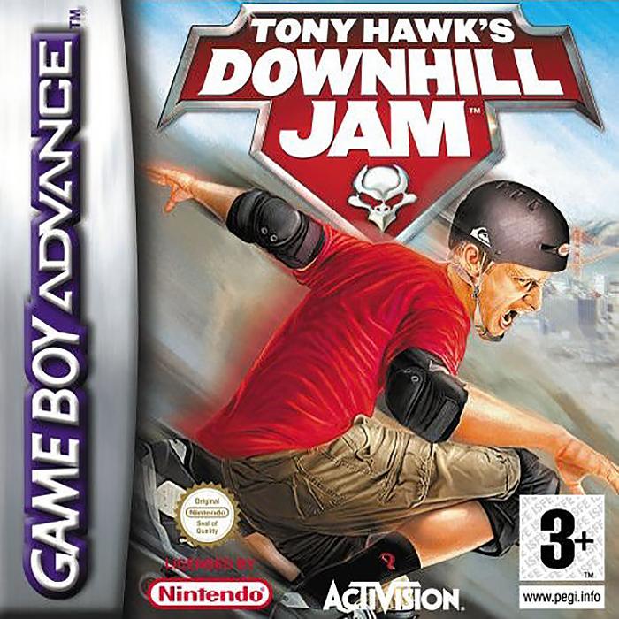 GBA Tony Hawks: Downhill Jam (Русская версия)