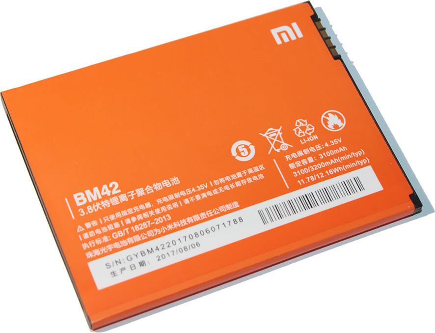 Фото - Аккумулятор Xiaomi BM42 (Redmi Note 4G) аккумулятор