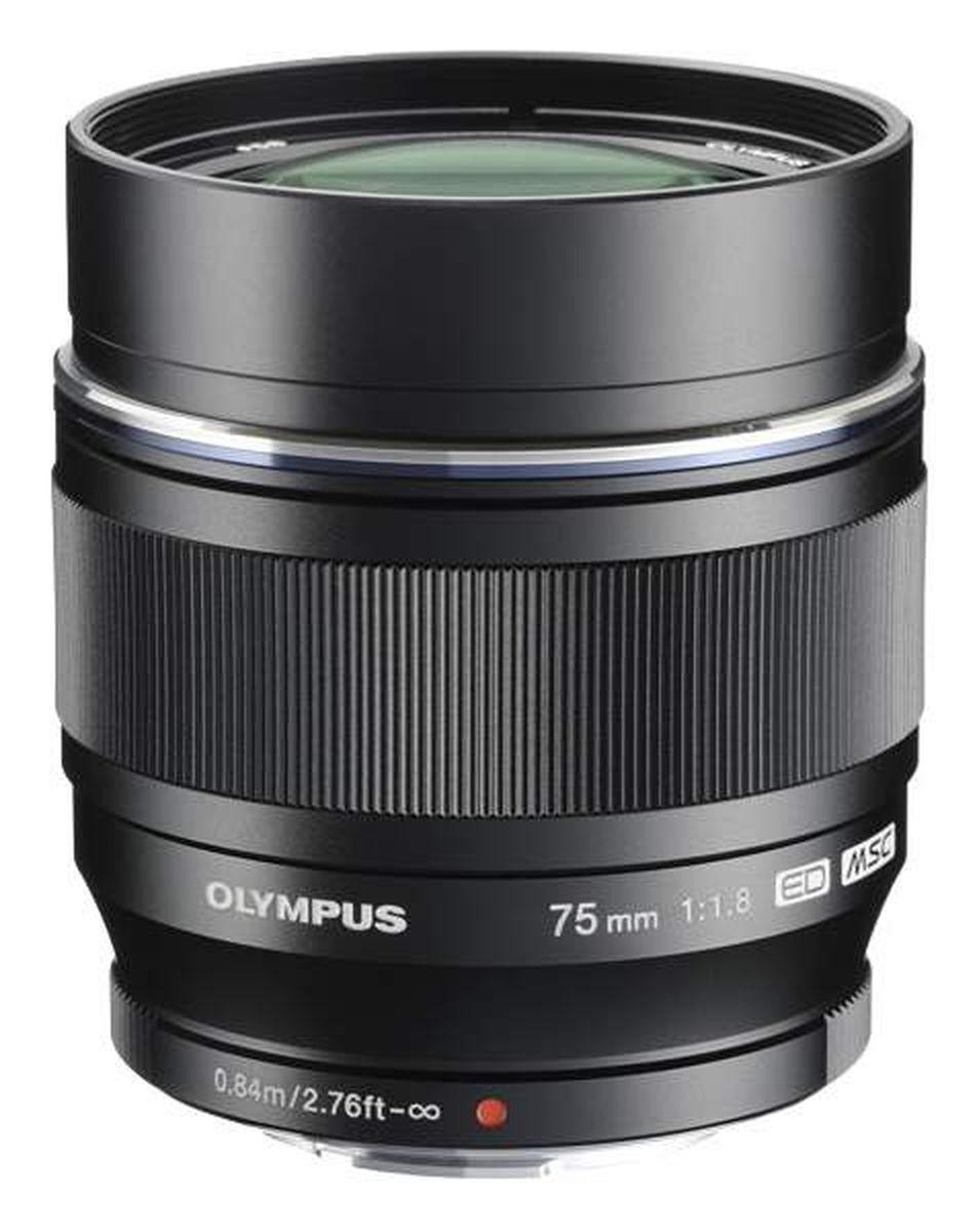 Объектив Olympus M.Zuiko Digital ED 75mm F1.8, черный