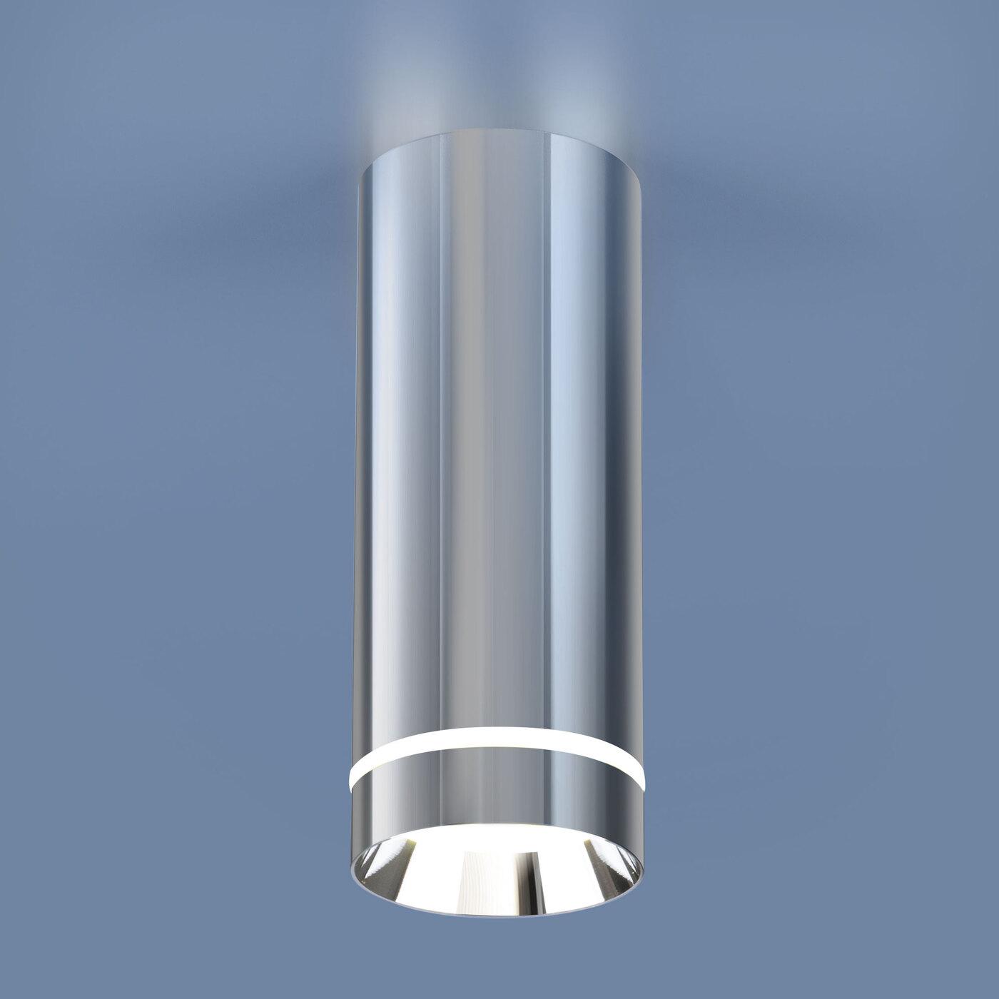 DLR022 12W 4200K / Светильник светодиодный стационарный хром потолочный светильник накладной argenta 4848