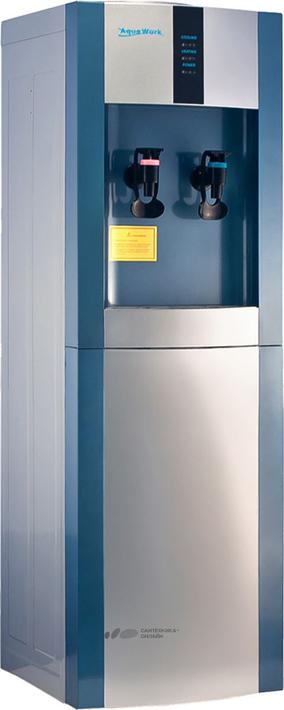 Кулер для воды Aqua Work AW 16LD/EN, серебристый, синий