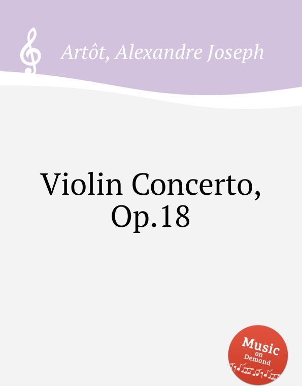 Violin Concerto, Op.18