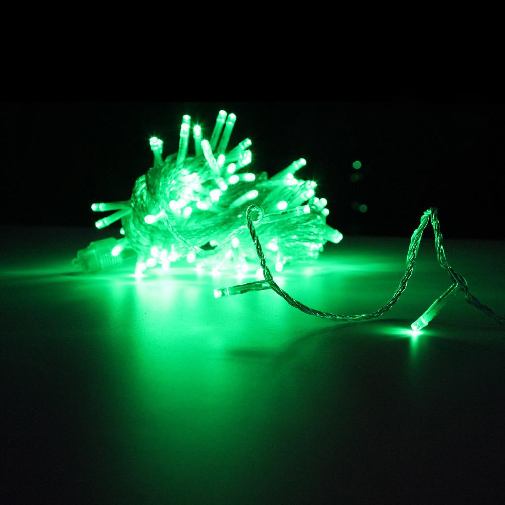 Гирлянда-нить SH Lights LD120-G-E, 12 м, 120 светодиодов, цвет: зеленый