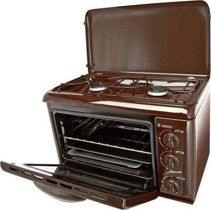 Настольная плита Gefest ПГ 100 K19 плита газовая настольная, коричневый