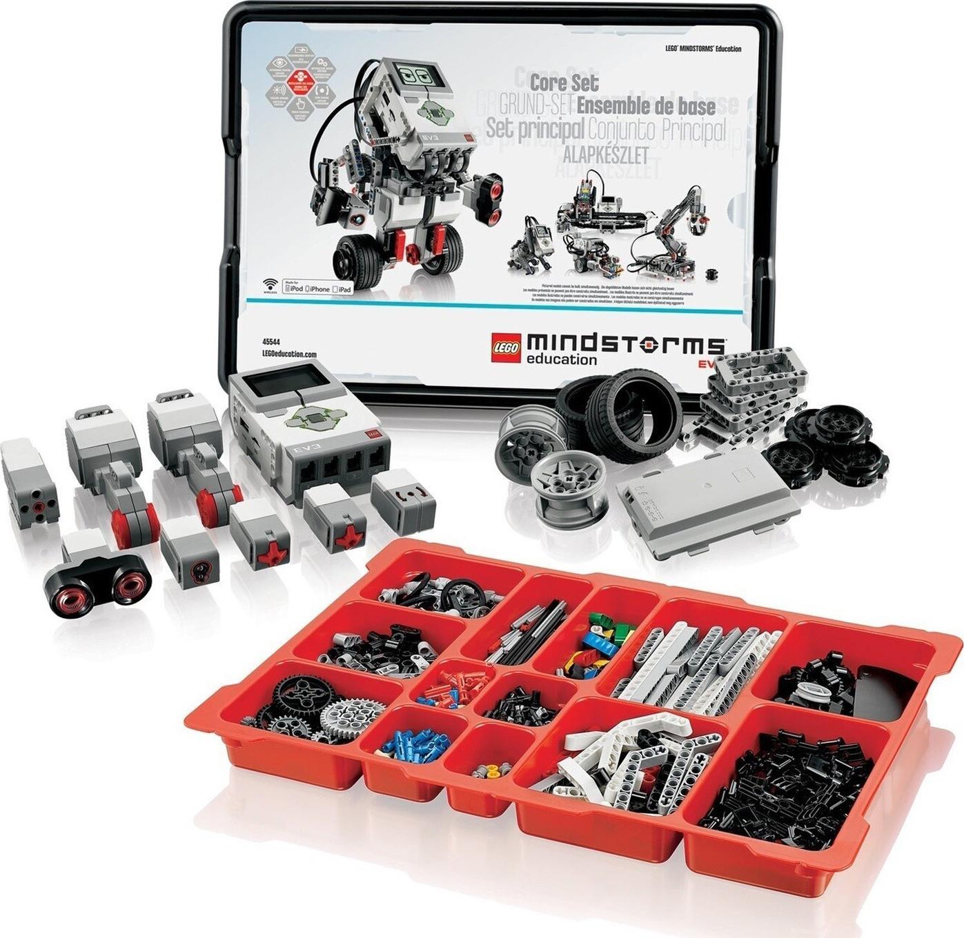 LEGO 45544Базовый набор MINDSTORMS Education EV3 Размер (см) 43.8 32.3 17.4; 2424 Микрокомпьютер...