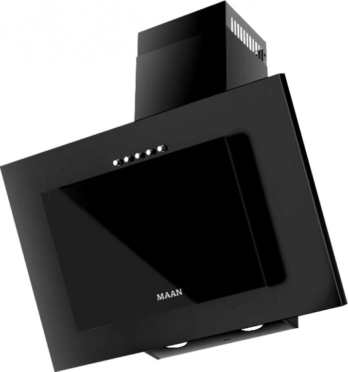 Кухонная вытяжка MAAN Vertical G 50 черный куб./час 3 скорости, кнопочное управление, освещение галоген...