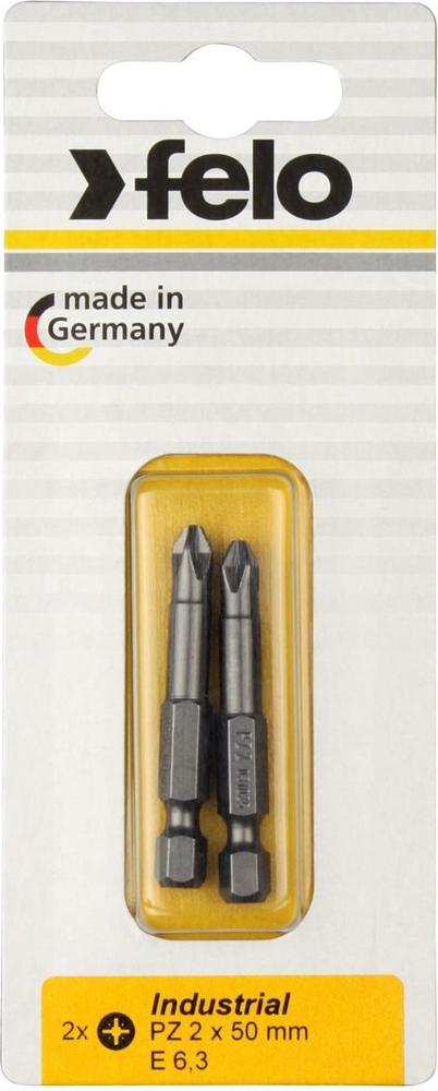Бита для инструмента Felo, крестовая PZ 2х50 мм, FEL-02102536, 2 шт