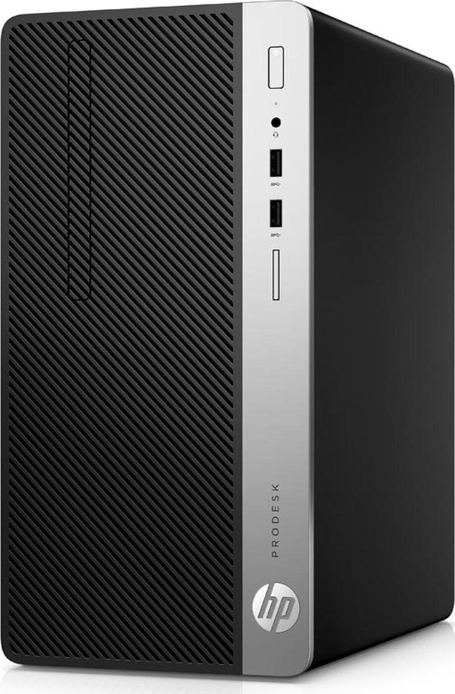 Мини ПК HP ProDesk 400 G6 MT Intel Core i3 9100(3.6Ghz)/8192Mb/256PCISSDGb/DVDrw/war 1y/W10Pro + HP HDMI Port (Repl 1JJ53EA)
