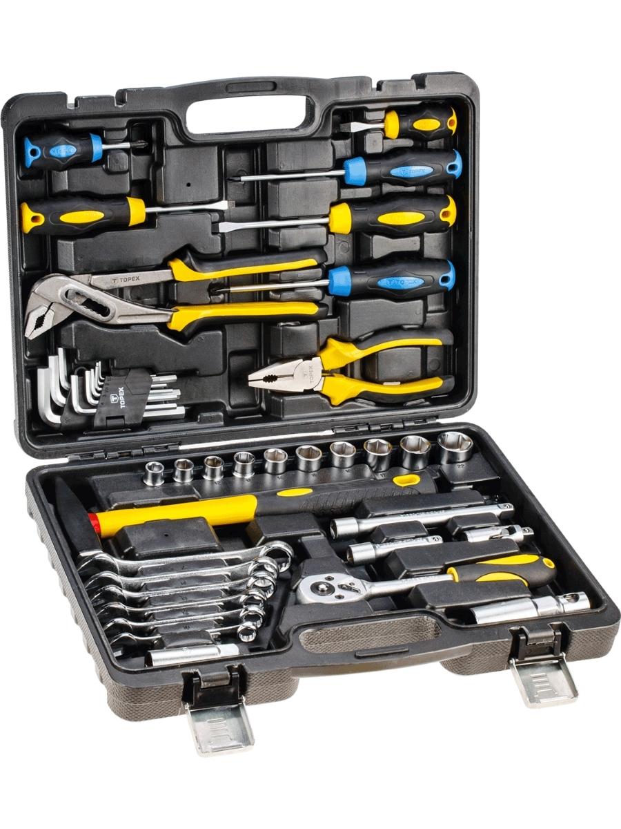 Набор инструментов (41 предмет) Topex 38D225