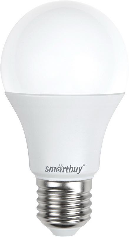 Лампочка SmartBuy SBL-A60-09-40K-E27-N, Дневной свет 9 Вт, Светодиодная