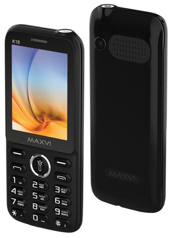 мобильный телефон maxvi 134565706557, черный