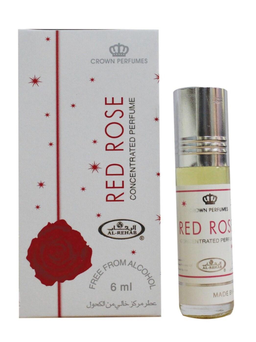 Al Rehab Red Rose / Красная Роза, 6 мл Масляные духи 6 мл