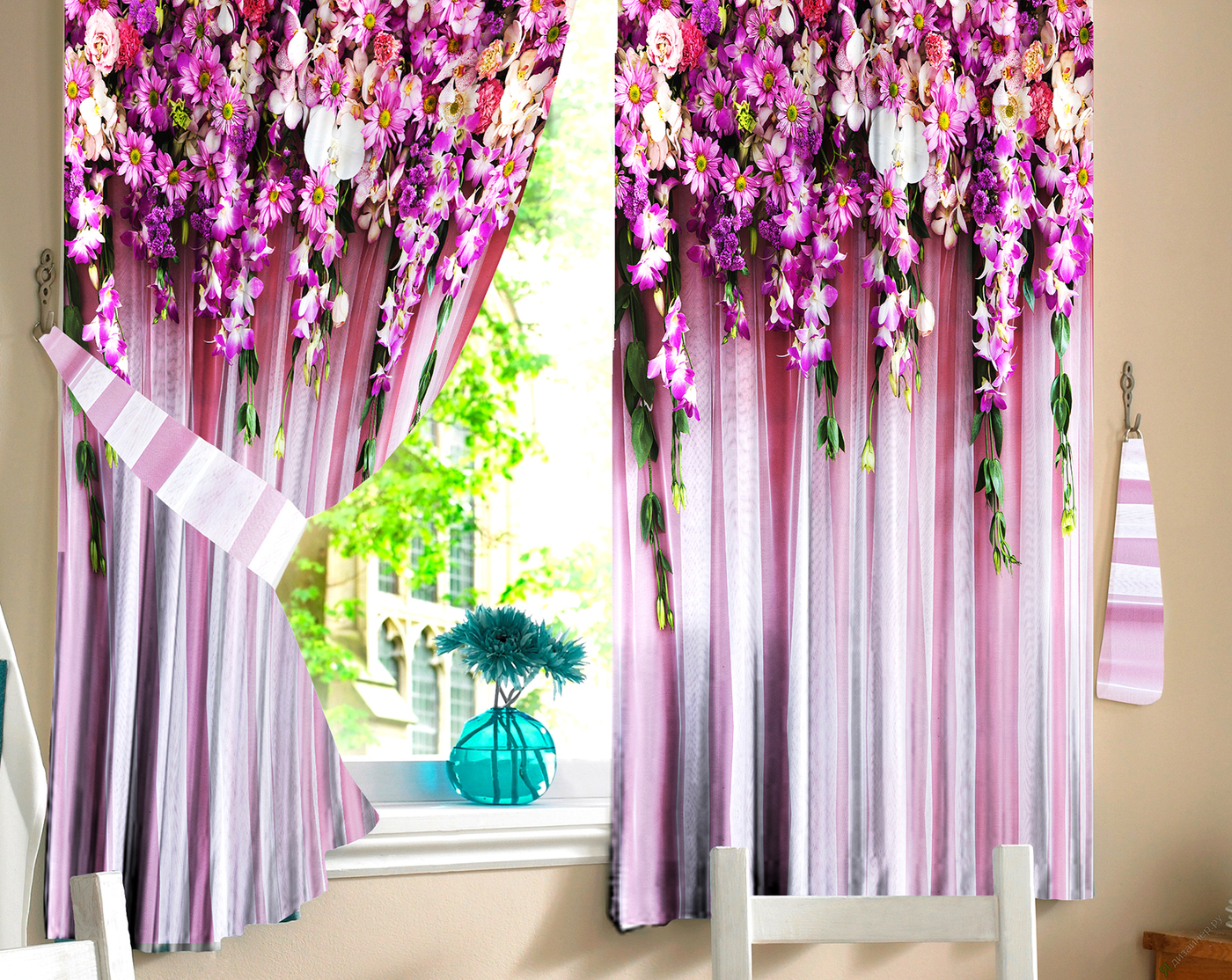 будет твоя красивые фото шторы ламбрекен из цветов поселилась