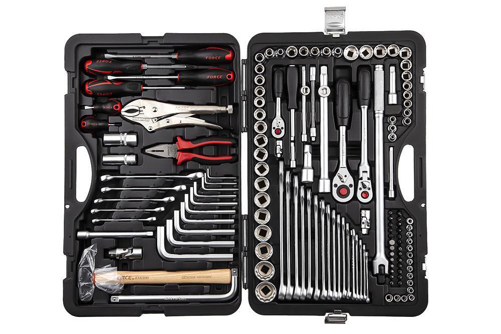 Набор инструментов FORCE 41421-9 142 предмета 12-гранный