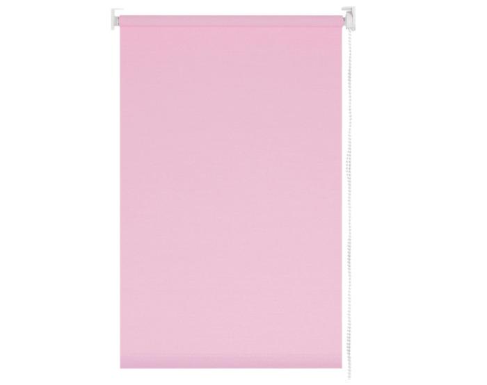 Штора рулонная 60х155 см цвет розовый-20678