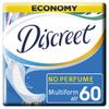Женские ежедневные прокладки DISCREET Air Multiform, 60 шт. - изображение