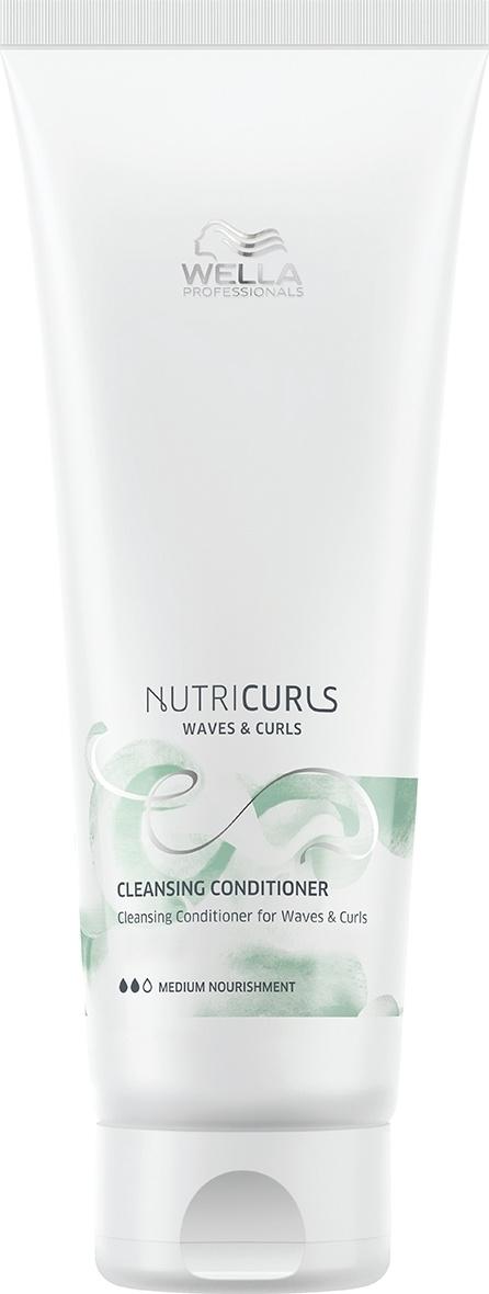 Wella Professionals Бальзам для ухода за кудрявыми и вьющимися волосами без силикона Nutricurls Cleansing #1