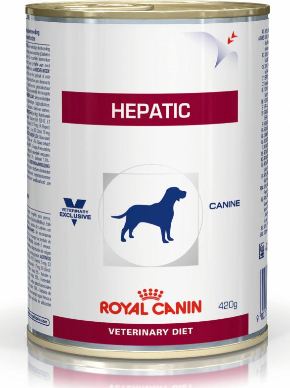 """Консервы Royal Canin """"Vet Hepatic"""", для собак при заболеваниях печени, 420 г  #1"""