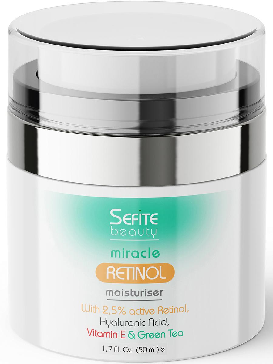 Sefite Чудесный крем омоложение для лица с ретинолом, витамином Е и гиалуроновой кислотой, 50 мл.  #1