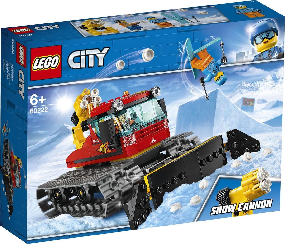 Конструктор LEGO City Great Vehicles 60222 Снегоуборочная машина #1