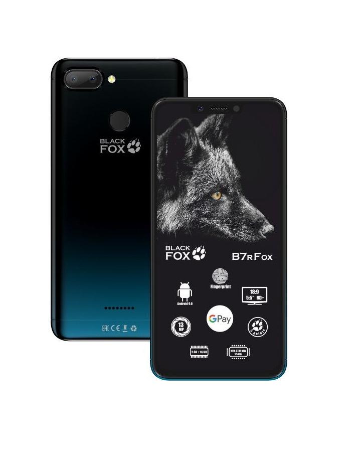 Смартфон Black Fox B7r темно-синий 16 ГБ купить по низкой цене: отзывы, фото, характеристики в интернет-магазине Ozon