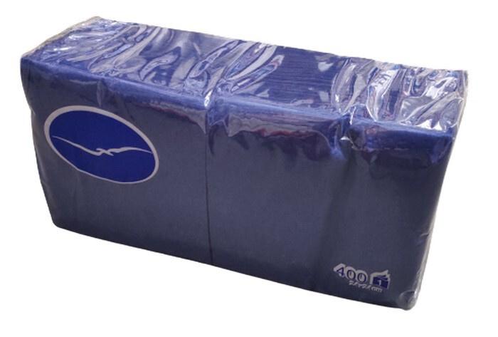Салфетки бумажные сервировочные Lenek 4750298007088 Бумага 24x24см, 400шт.  #1